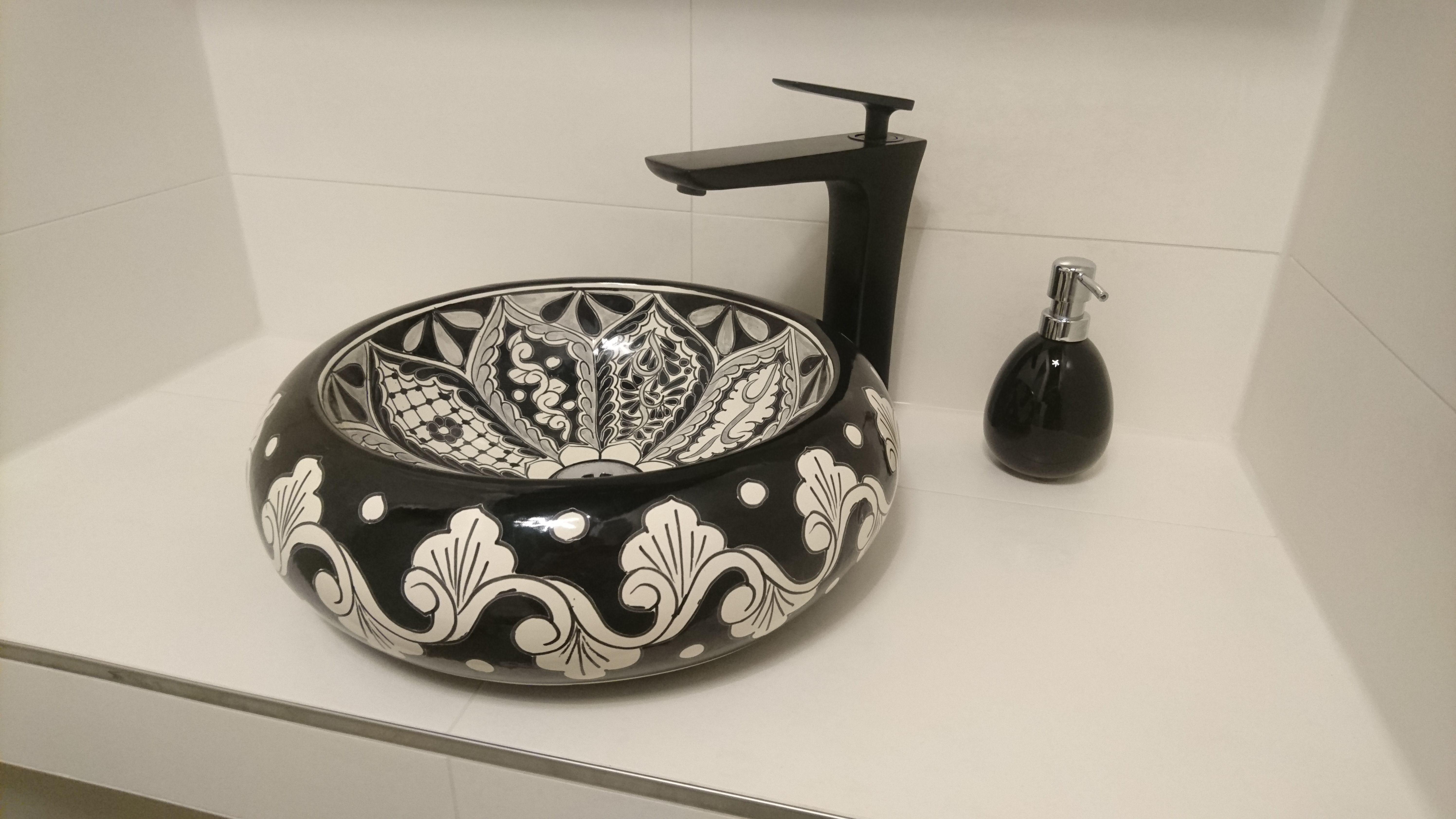 Mexikanische Waschbecken Badezimmer Ideen Bunte Talavera