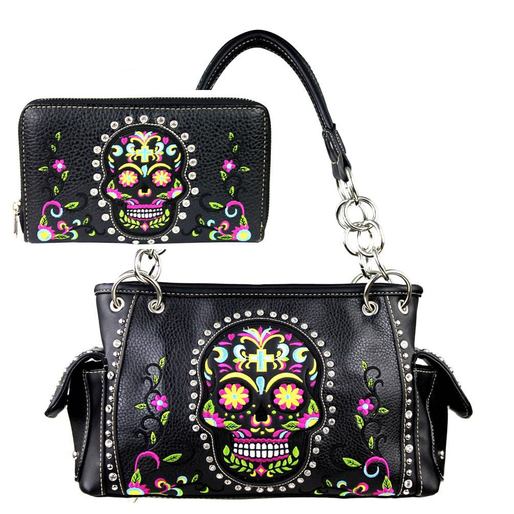 6a06a08e3c5a Astra (3 colors) in 2019 | skulls | Bags, Skull purse, Purses