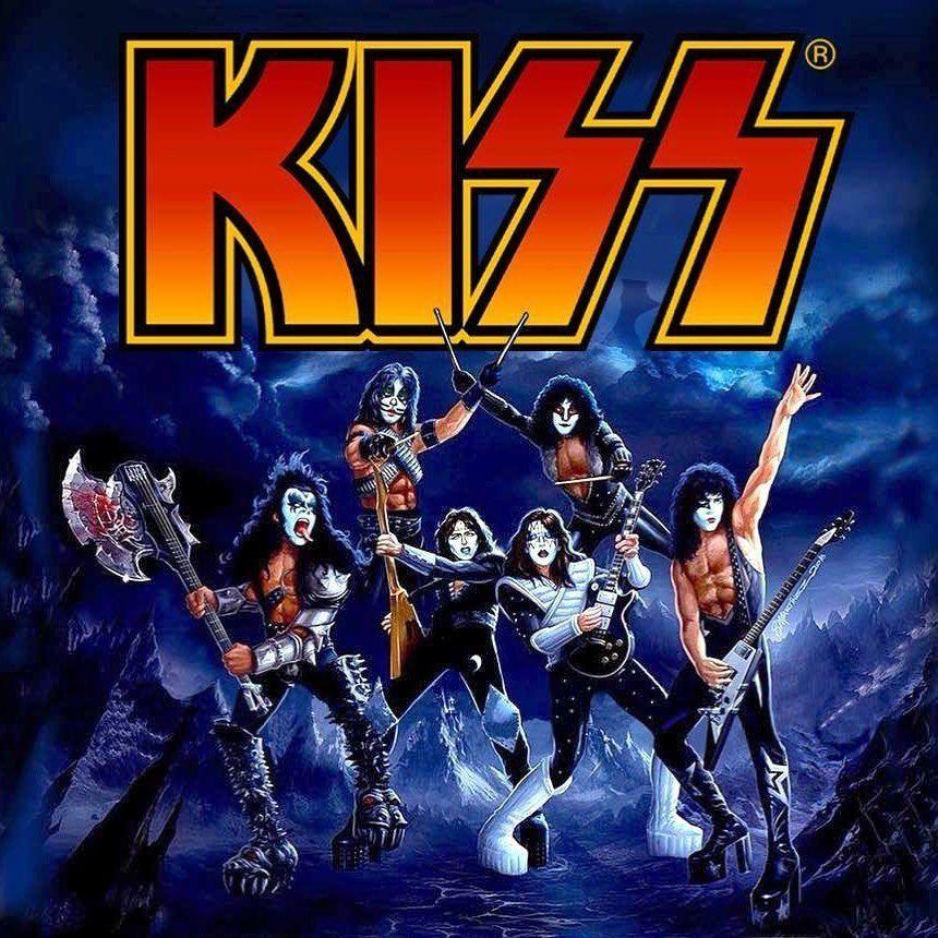 Kiss 1973 1983 Kiss Genesimmons Paulstanley Acefrehley Petercriss Ericcarr Vinnievincent 1973 1983 Artwor Kiss Album Covers Kiss Artwork Kiss Band