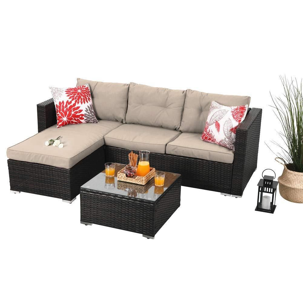 Amazing Phi Villa Patio Sectional With Cushions Rattan Outdoor Cjindustries Chair Design For Home Cjindustriesco