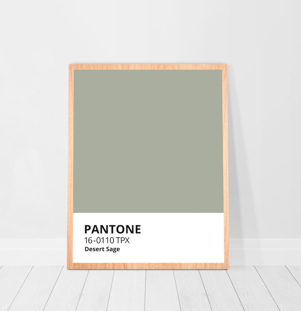 Pantone Sage Color Print Digital Download, Sage Green Poster, Sage Green Decor Printable Wall Art, Minimalistic Pale Green Pantone Printable -   16 sage green living room color scheme ideas