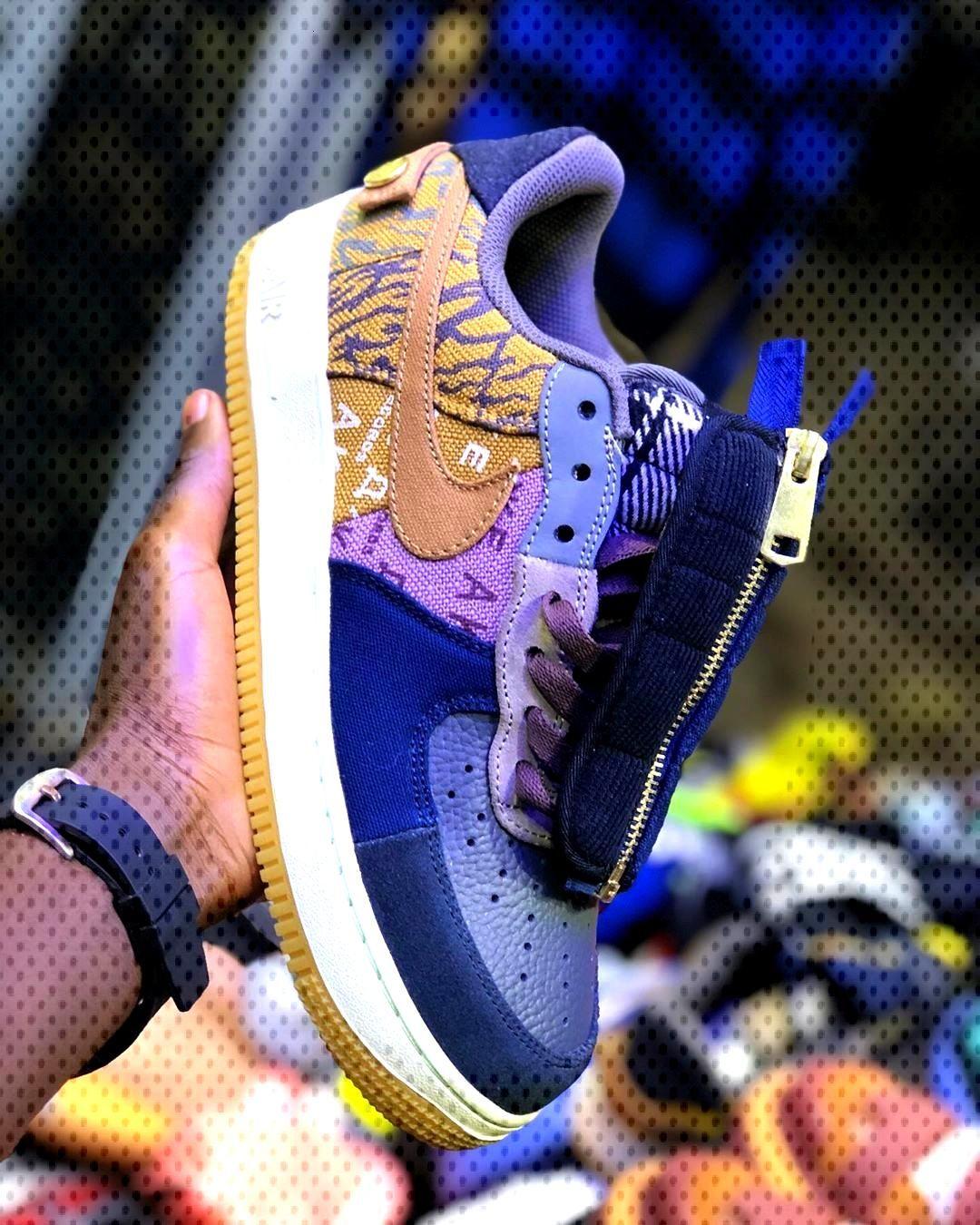 Travisscott Nike Air Force 1 @travisscott WhatsApp +237694489586