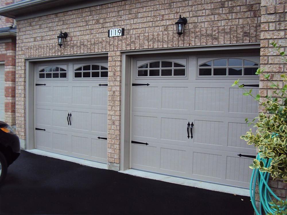 cascade garage doorCHI Overhead Doors model 5250 Steel Carriage House Style Garage