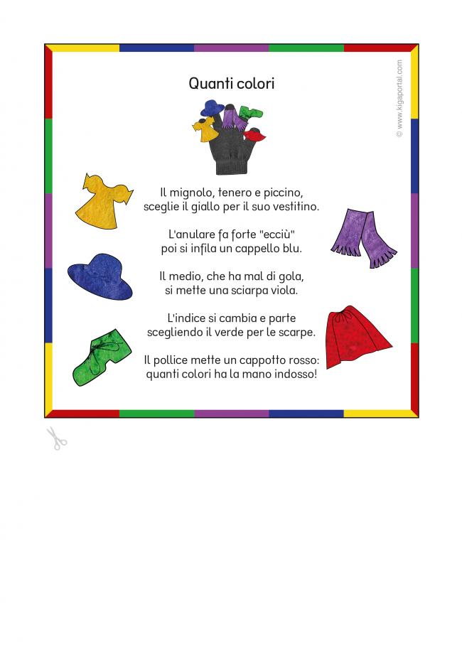 Wunderbar Farben Einer Tabelle Für Den Kindergarten Galerie ...