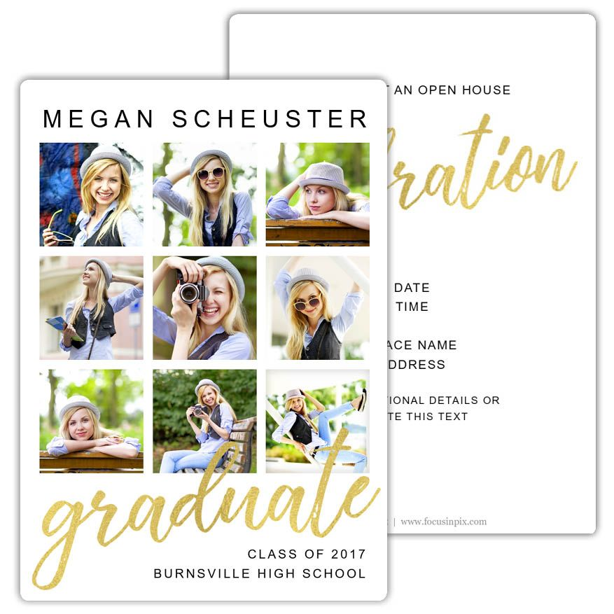 graduate grid create your own graduation invitations and