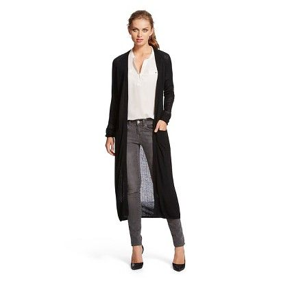 MB LS Duster Cardigan - Black | Day Job | Pinterest | Dusters ...