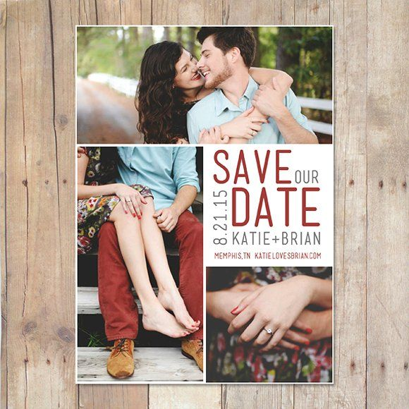 Save The Date Template  Weddings