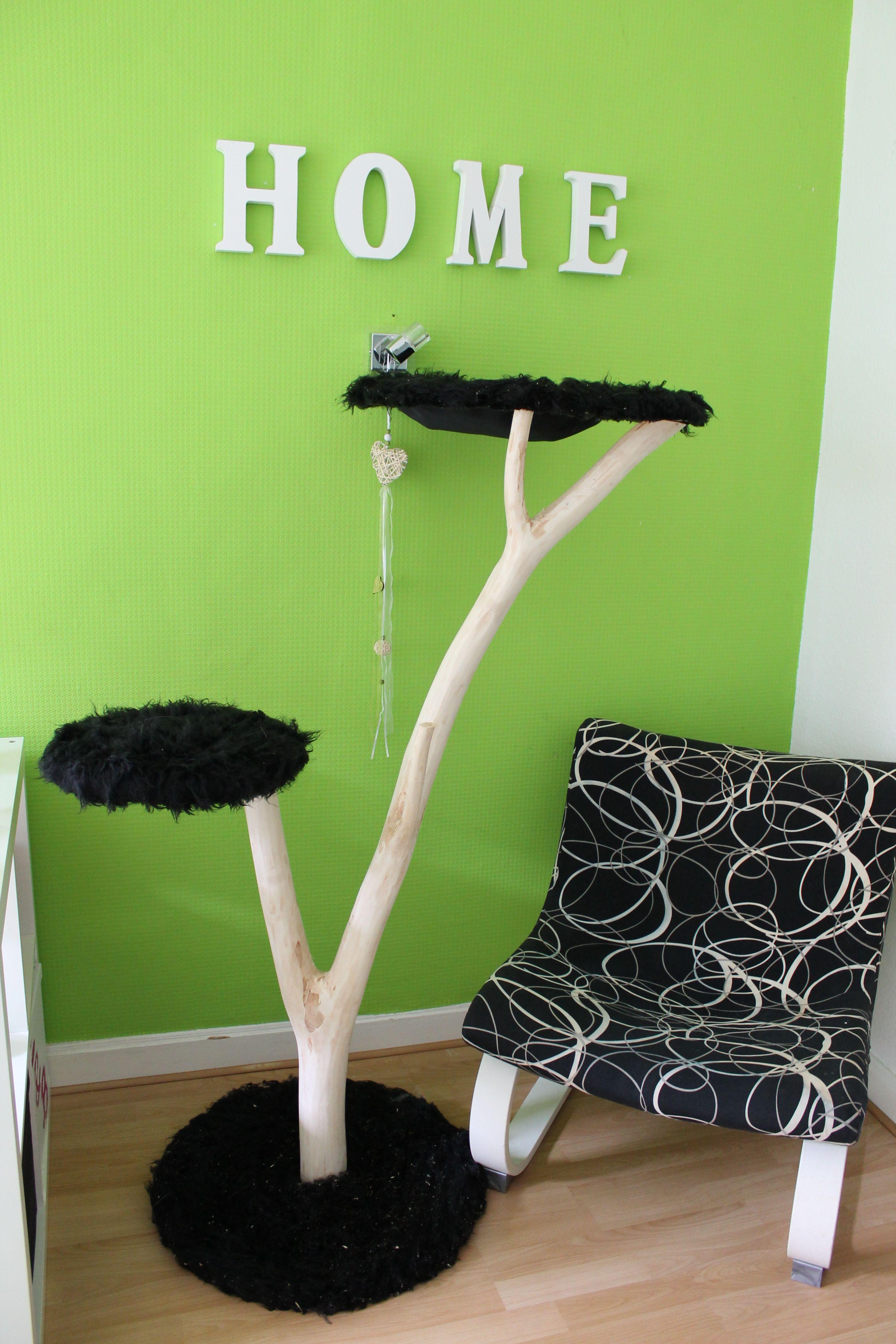 naturkratzbaum woodstyle basic   cat furniture   pinterest   cat