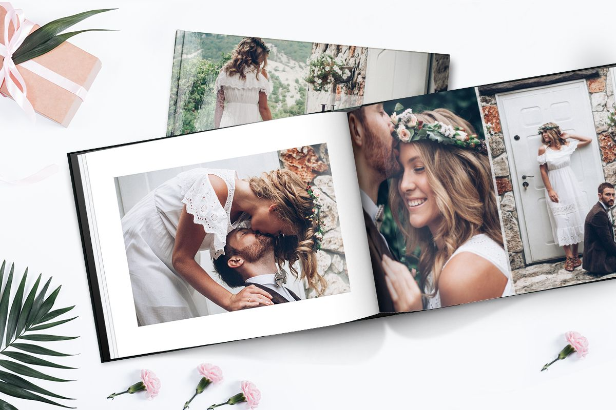 Your Love Story Deserves To Be Printed Print Your Wedding Album In A Stunning Hardcover Photo Wedding Photo Book Layout Wedding Album Layout Album Photography
