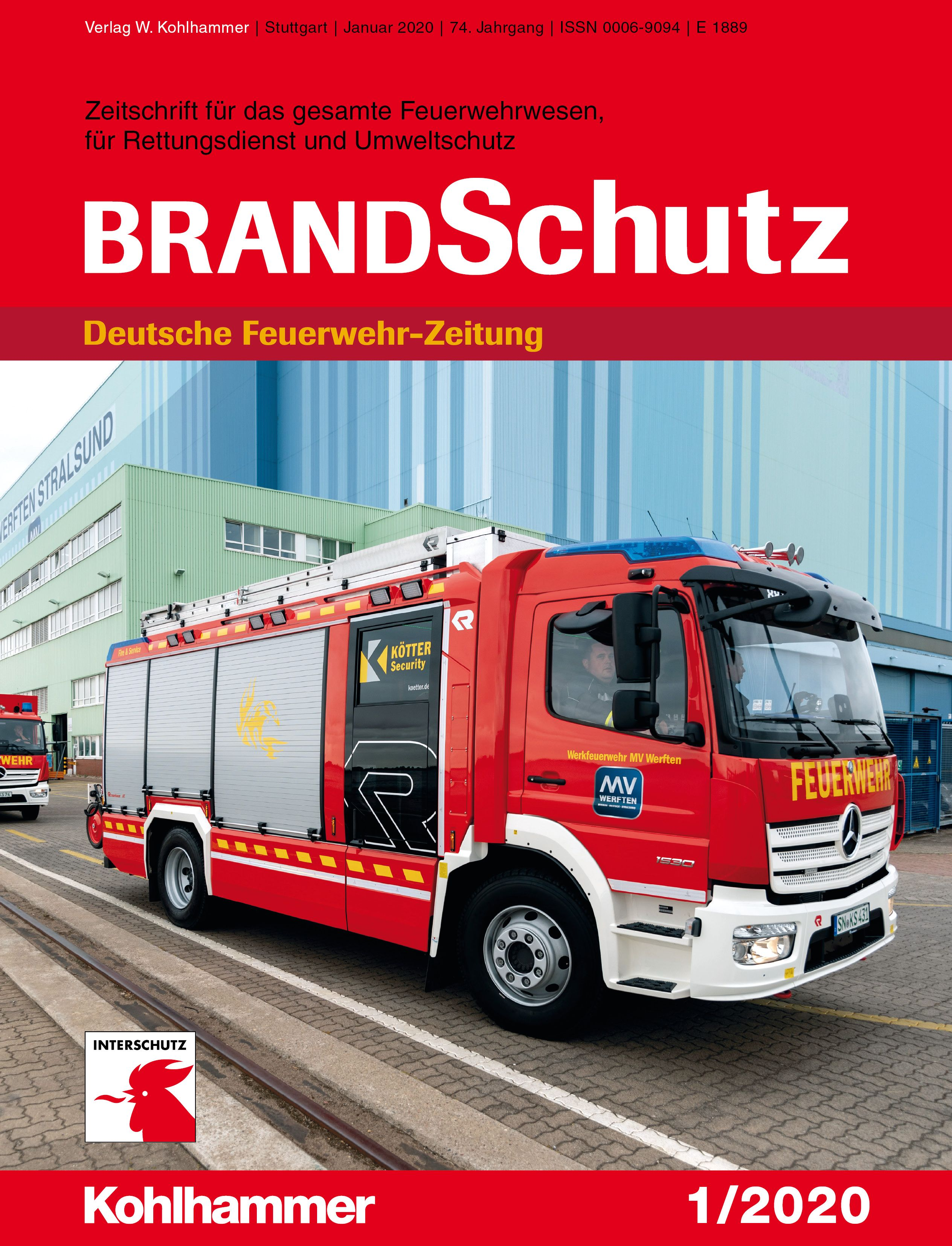 """Prototyp """"erwischt"""" Feuerwehr en 2020"""