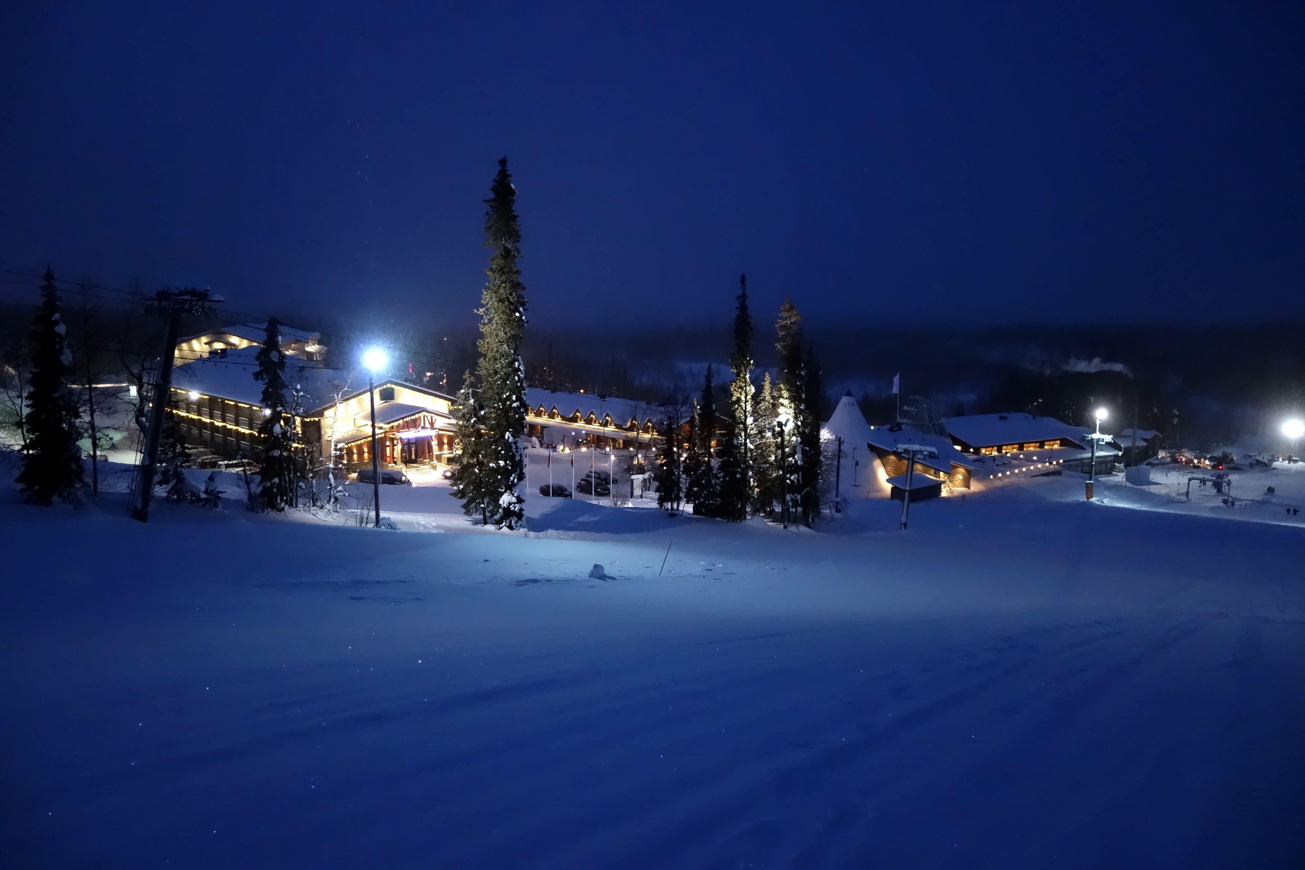 Lapland by night
