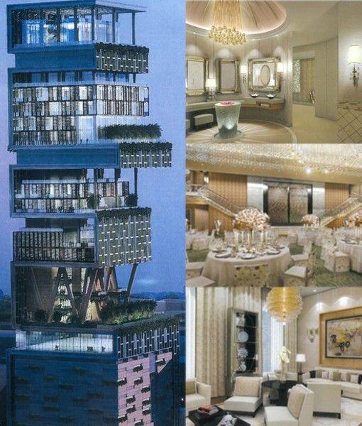 Antilia House La Casa Mas Cara Del Mundo Bombay House Styles Dream House House