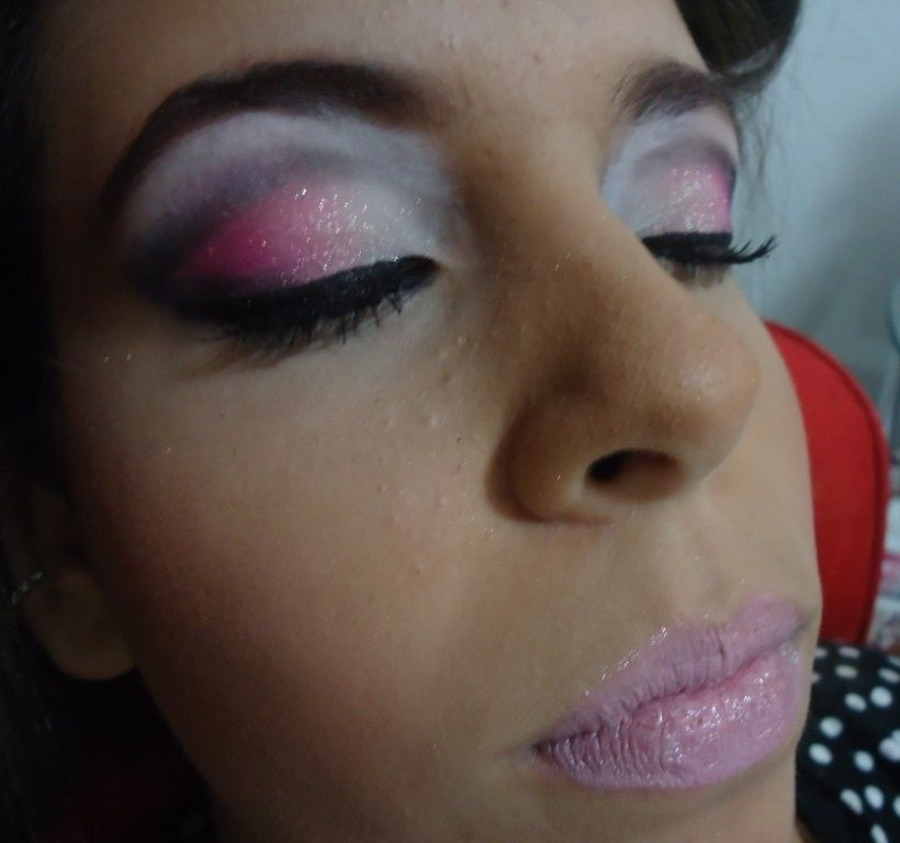 Make - degrade rosa