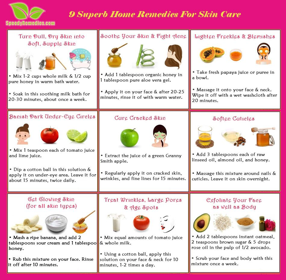 body care at home