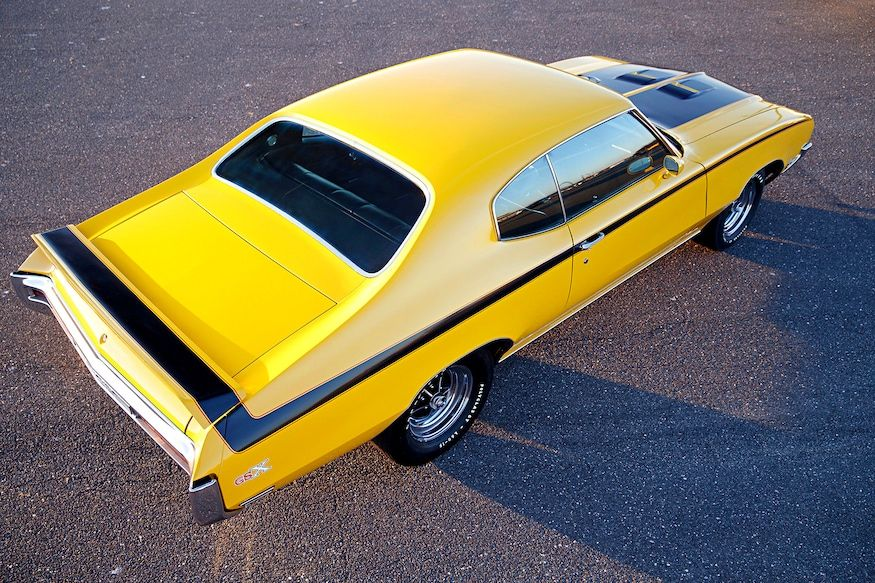 Unrestored original 1970 buick gsx balances luxury