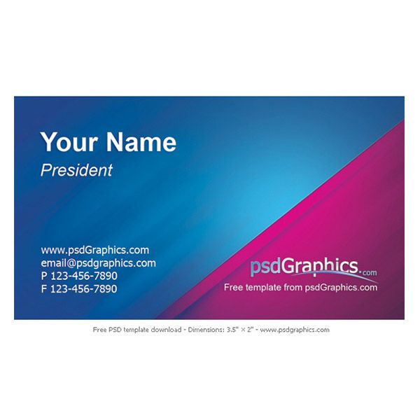 Free printable business cards templates by psdgraphics places to free printable business cards templates by psdgraphics colourmoves