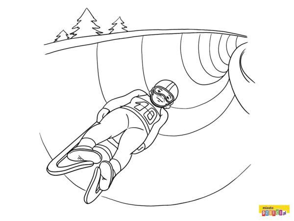 Sporty Zimowe Olimpiada Zimowa Kolorowanki Dla Dzieci With
