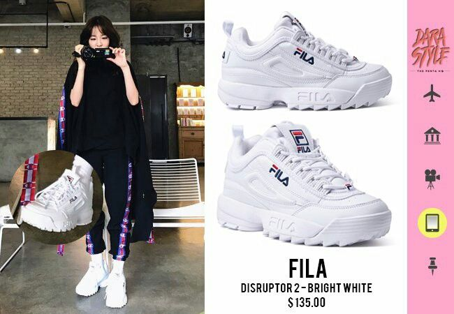 b61b0bb727 Fila Disruptor 2 in Bright White Sneakers Nike, Cute Sneakers, Dad Shoes,  Women's