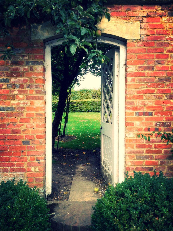 English garden photography, English garden print, Door Print, Door ...