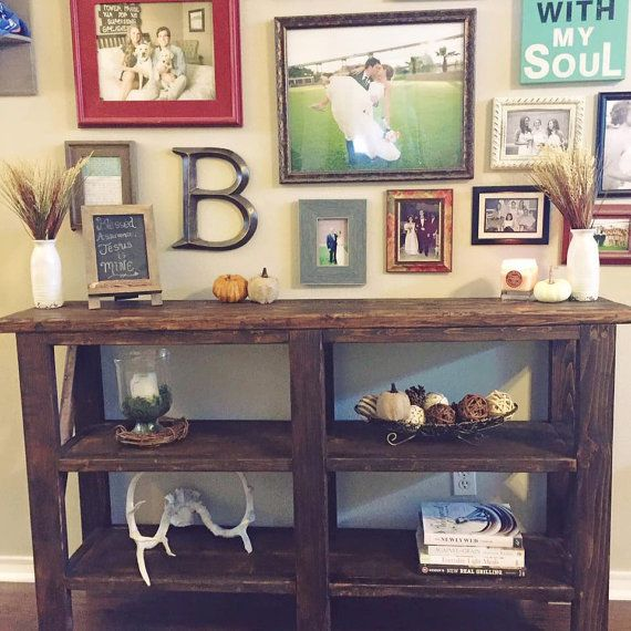 Farmhouse Buffet Table by CoastlineWoodworks on Etsy