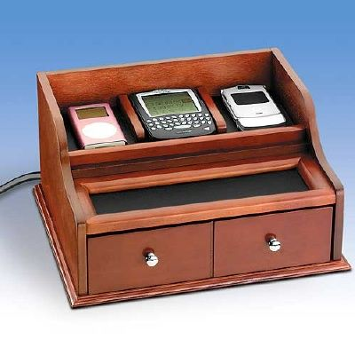 DESK ORGANIZERS Technology for Women Electronic charging