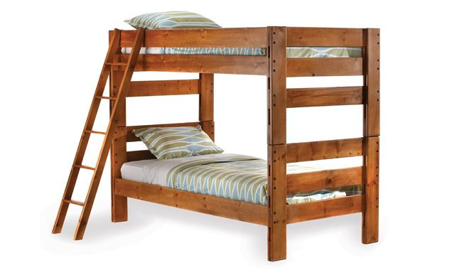 Durango bunk beds - I put a set on two walls meeting at the ...