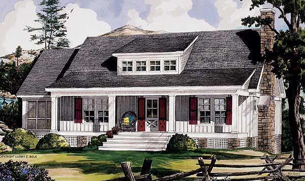 Plan 5433lk Adirondack Style Getaway Ranch House Floor Plans Timber House Dream House Plans