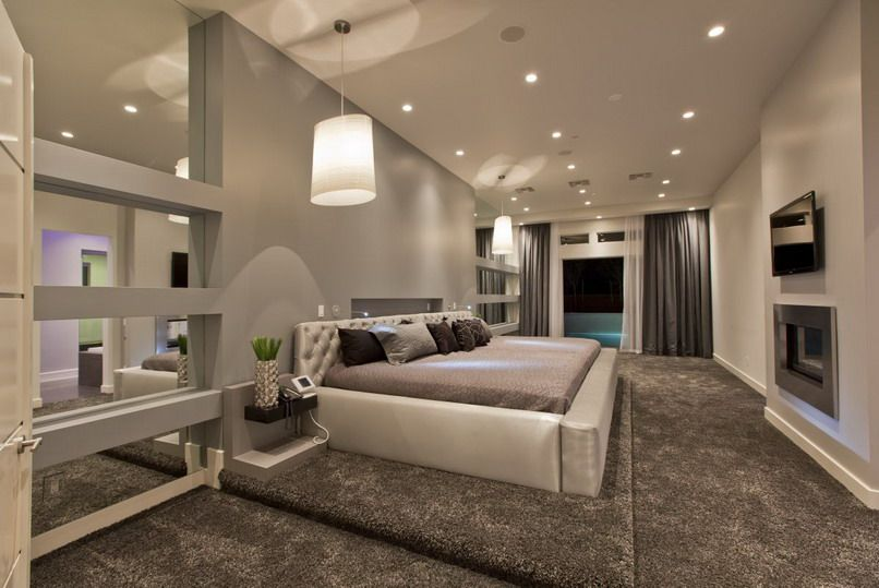 40 Of The Most Amazing Master Bedrooms We've Ever Seen Rooms Custom Lights In The Bedroom Concept Property