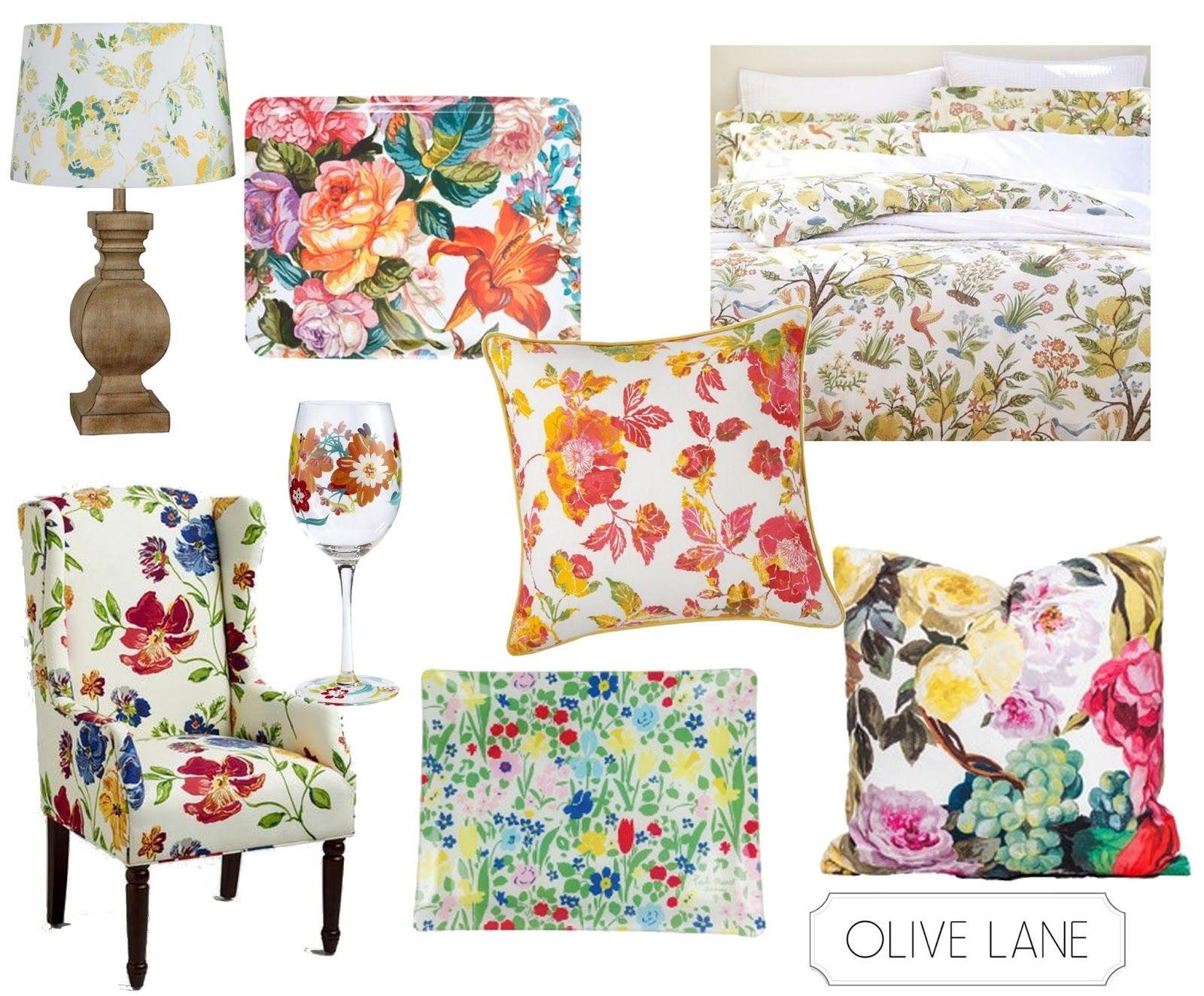 Floral Home Design Decor inspired by J.crew Liberty Collection ...