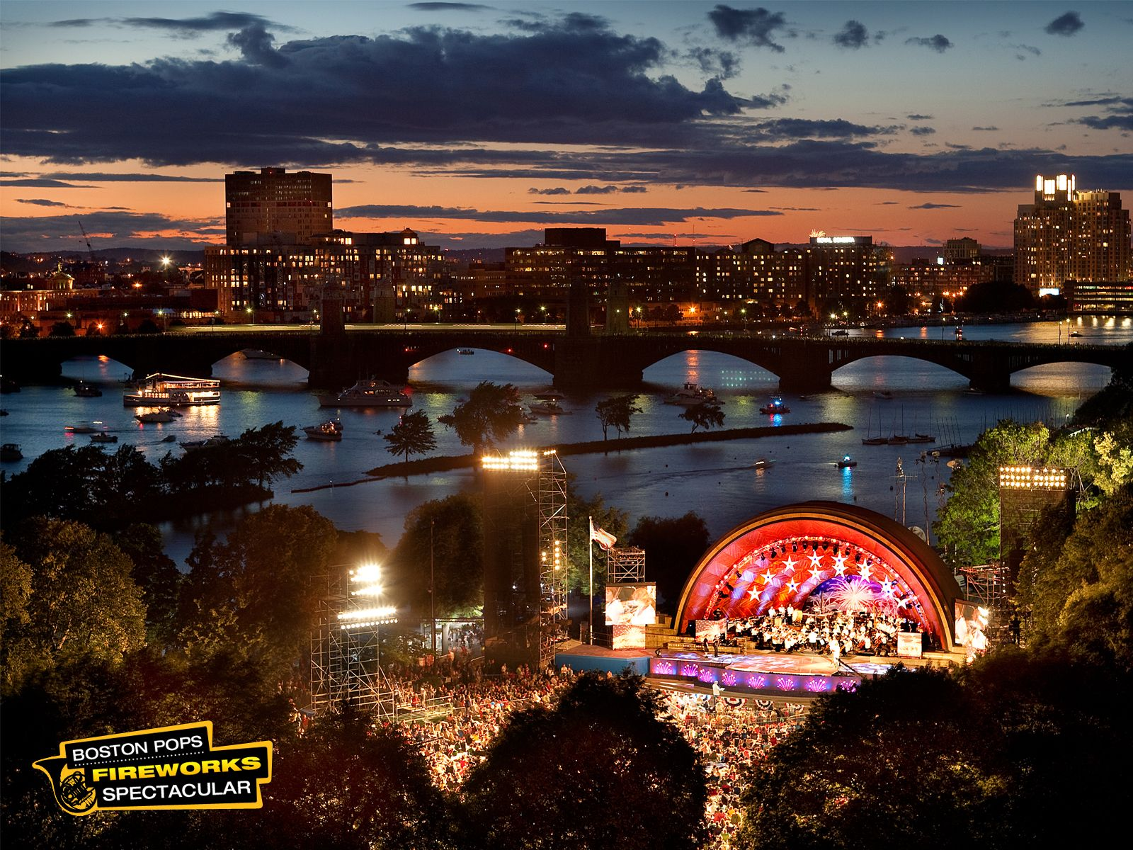 Boston On The Fourth Of July Boston Fireworks Boston Pops