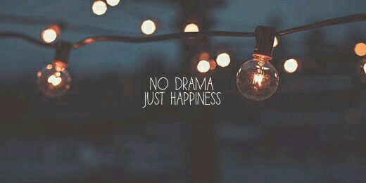 No Drama Just Happiness Facebook Cover Photos Vintage Cover Pics For Facebook Twitter Header Image