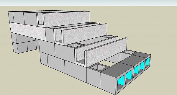 Cinder Block Steps Design Inspirations With Isn T 8