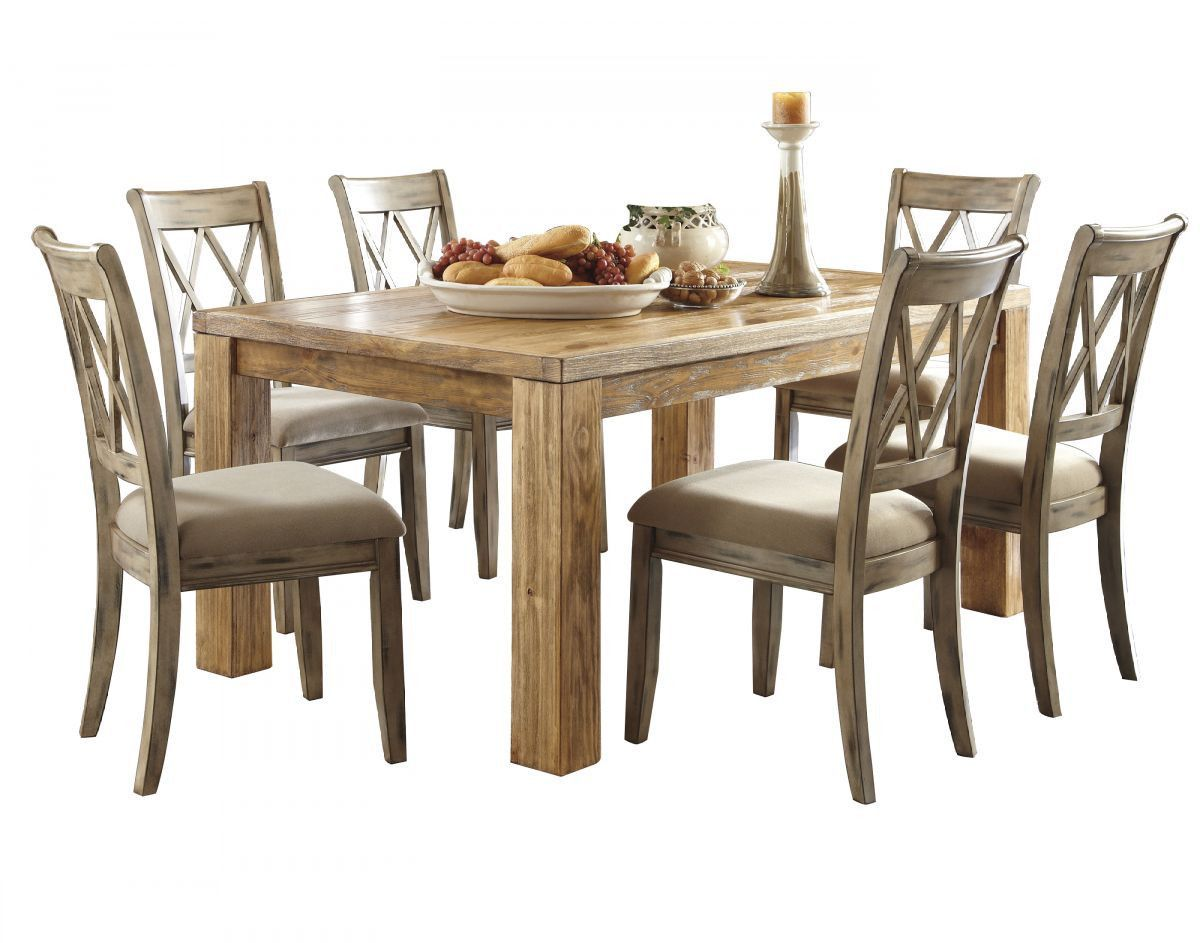 Mestler Table & 6 Chairs