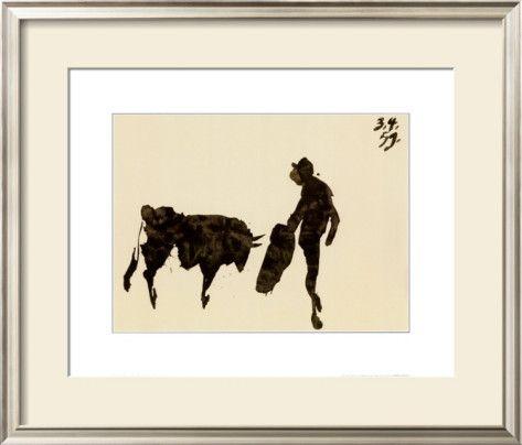 Toros y Toreros Prints by Pablo Picasso at AllPosters.com