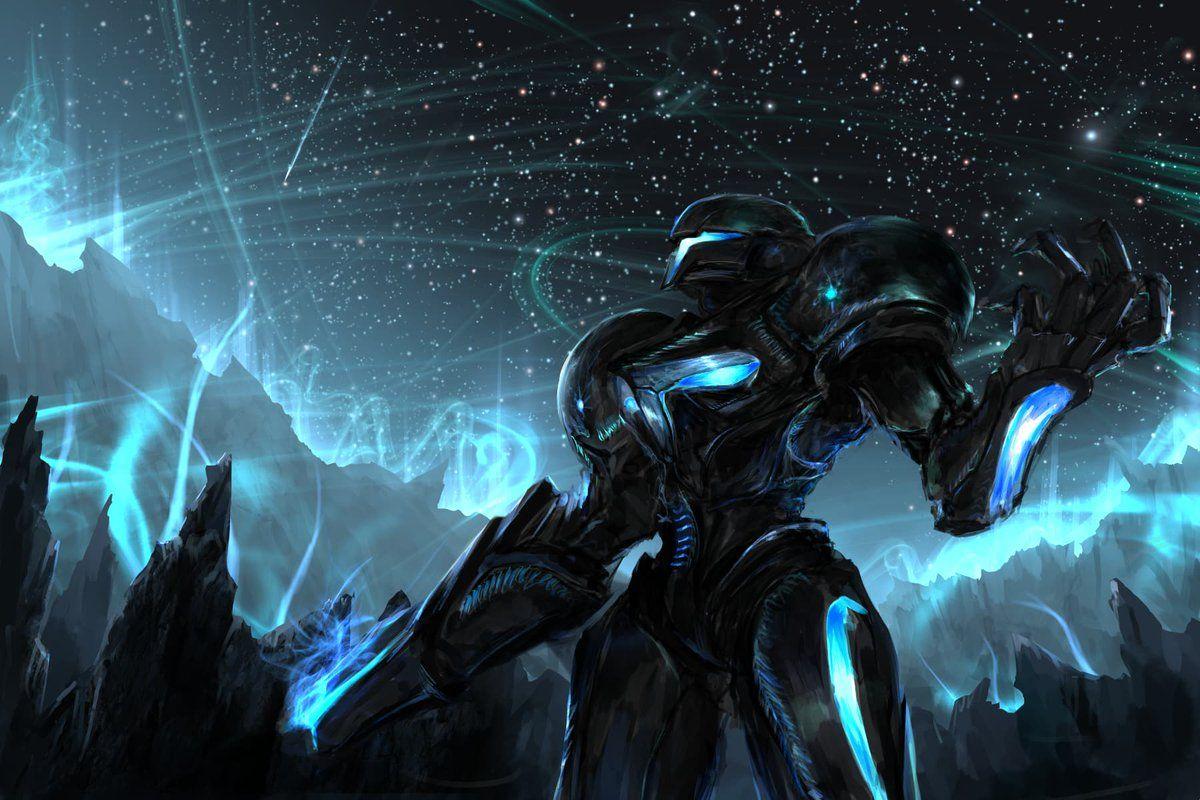 Dark Samus Samus Metroid Metroid Samus