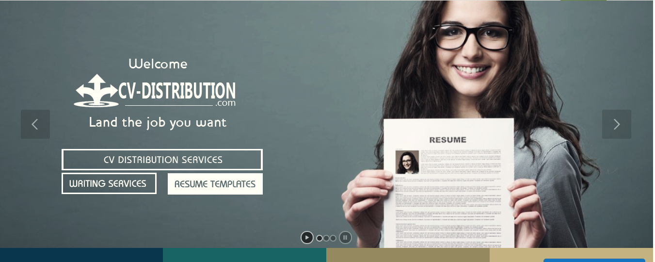 CV Distribution is the fastest way of getting your CV in