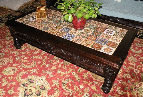 Renaissance Architectural Renaissance Coffee Tables Tiled