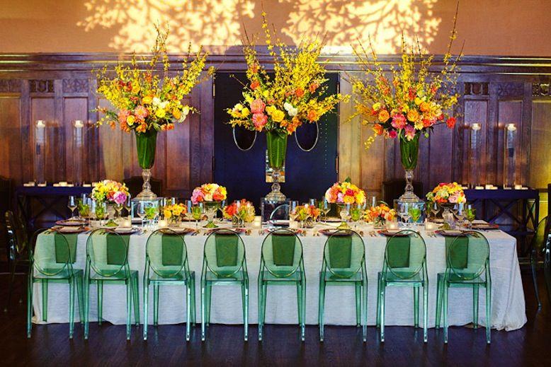 Wedding Recption Yellow