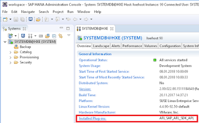 Installing the Automated Predictive Library (APL) on SAP
