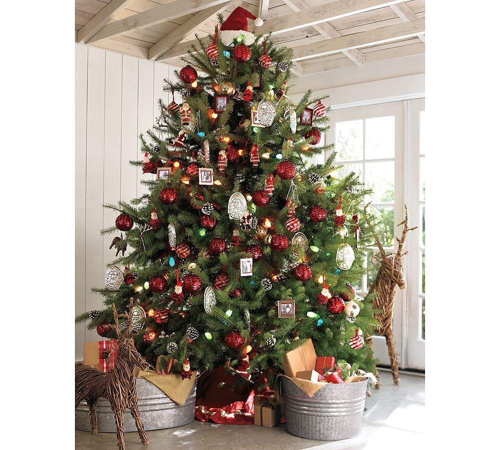 Pottery Barn Christmas Treee Christmas Pinterest