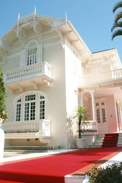 Mansao Construida Em 1920 Obra De Arte Arquitetonica Na Cidade Do