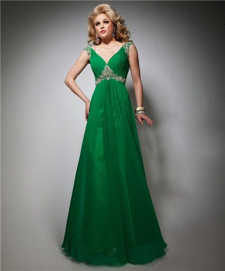 1000 images about Emerald Green Prom Dresses on Pinterest - Satin...