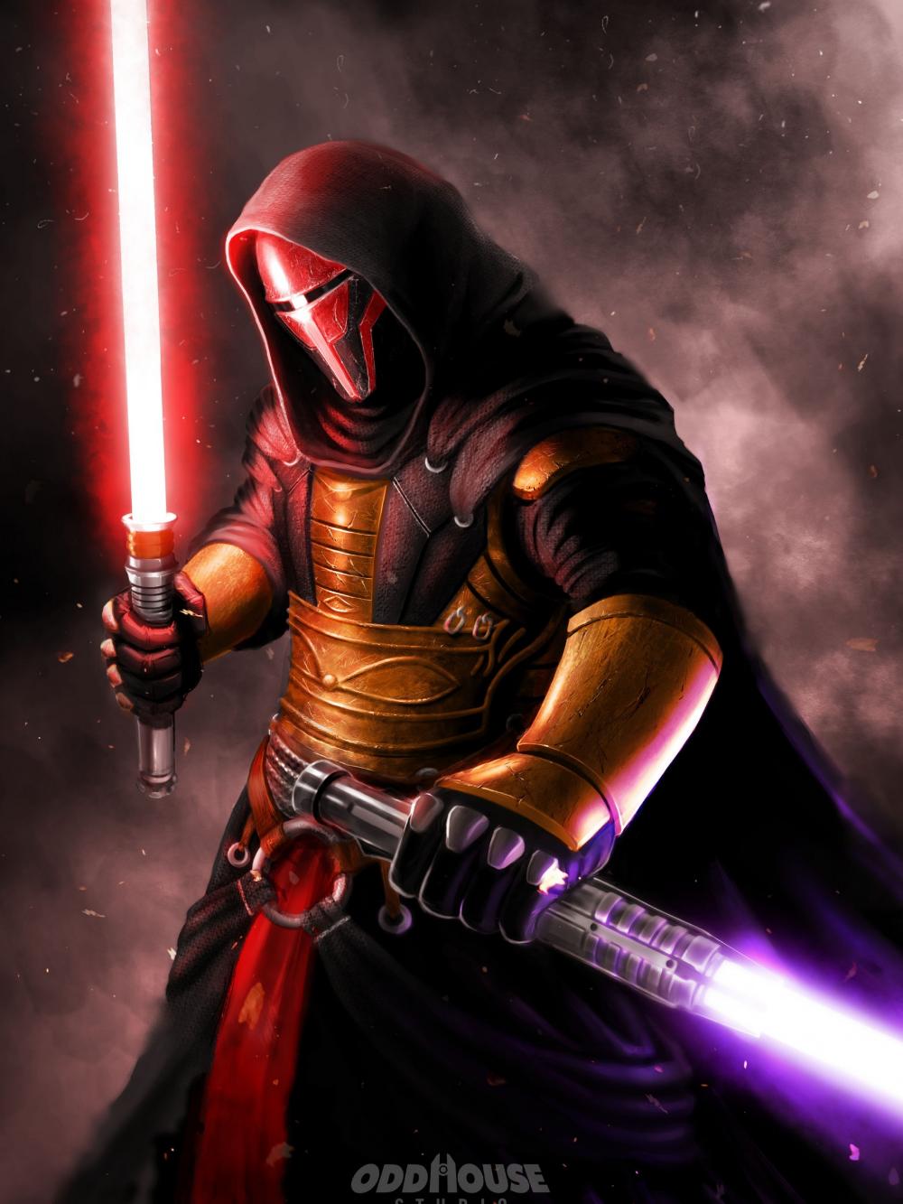 Darth Revan 4k Wallpaper Wallpaper In 2020 Star Wars The Old Star Wars History Star Wars Empire