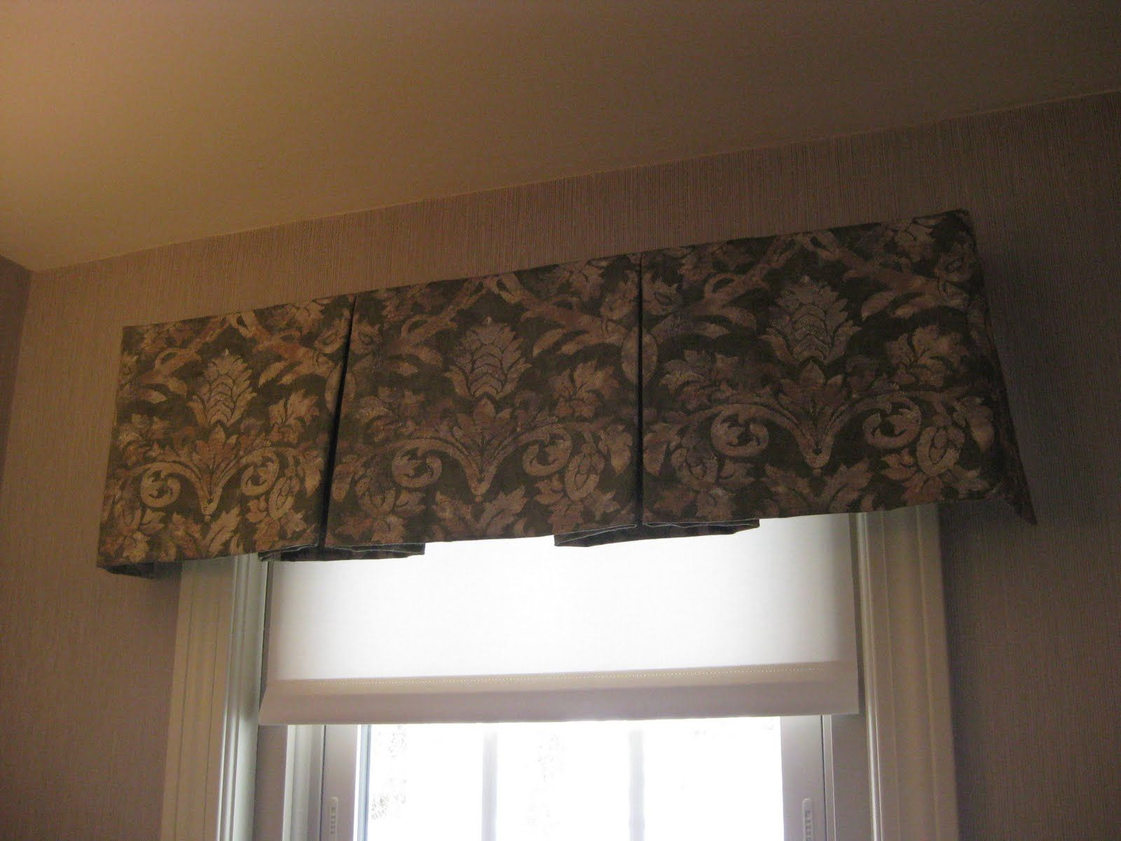 Free Pleated Valance Patterns Box Pleated Valance