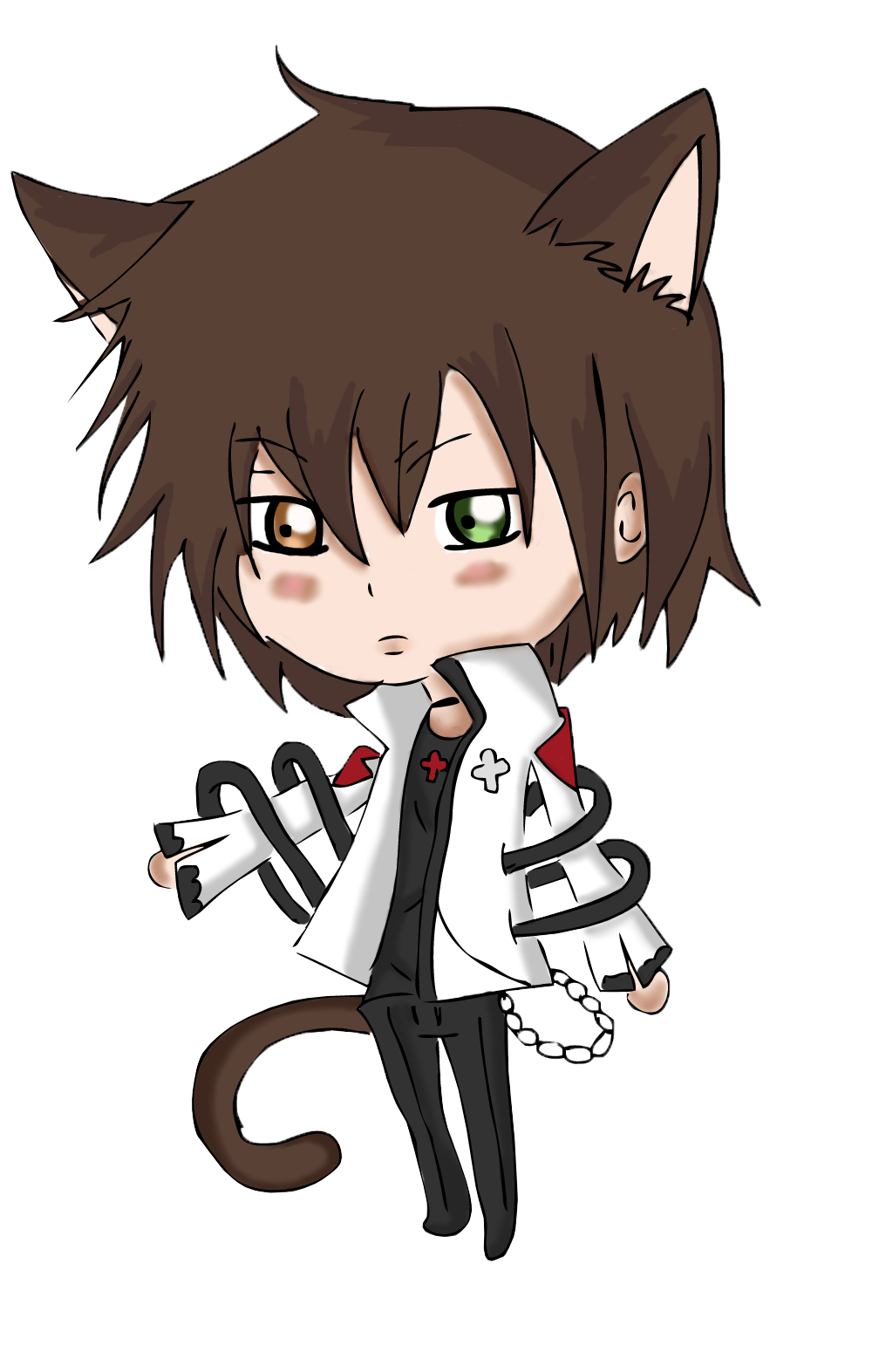 Images For > Boy Chibi With Hoodie Seni