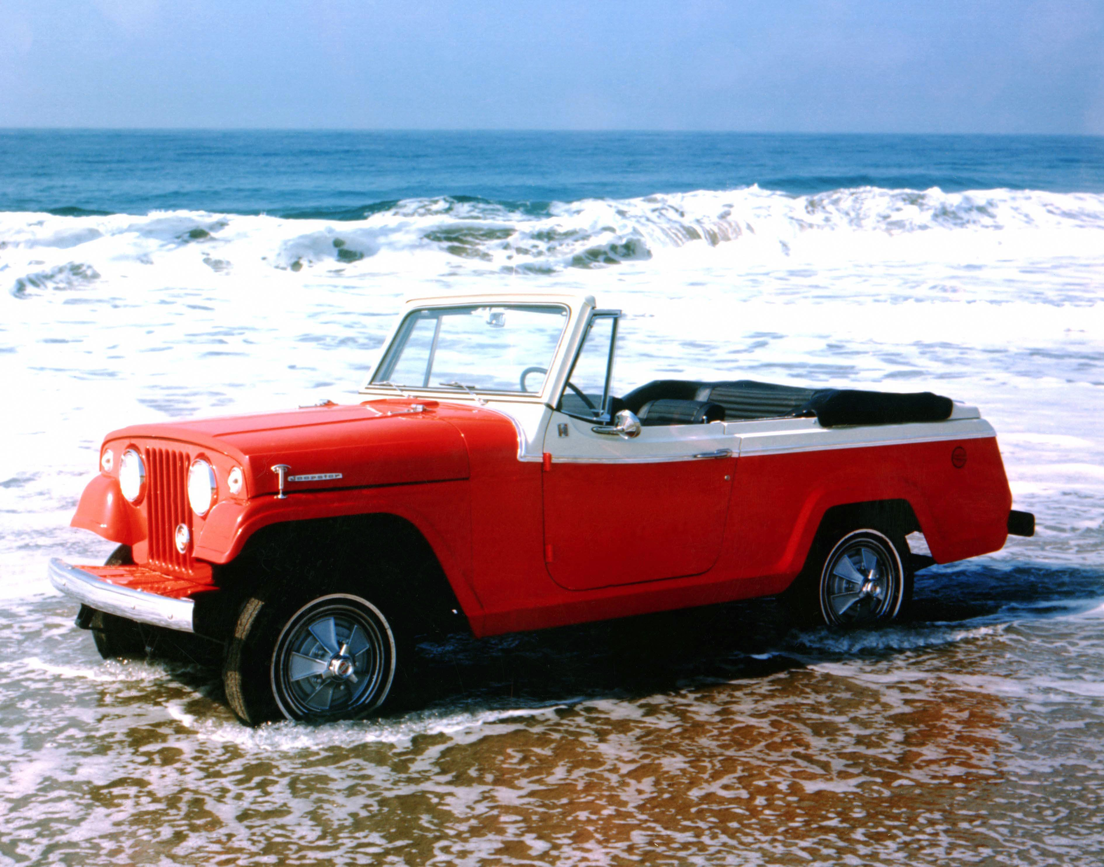 1967 Jeepster In Water Color Jeepster Commando Jeepster Willys