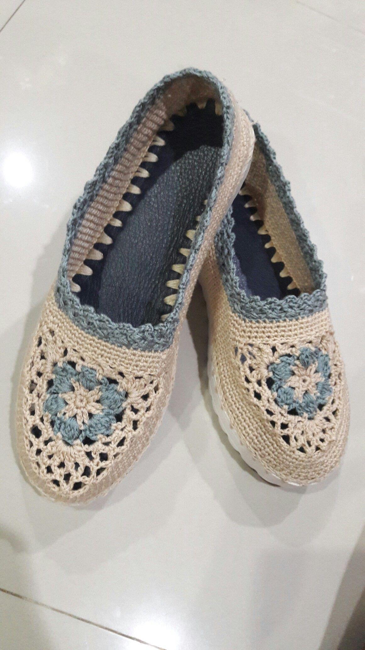 Pin von Graciela Carrasco auf zapatos | Pinterest | Schuhe und Stricken