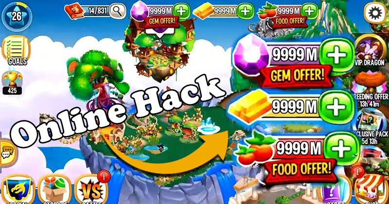 Dragon City Hack 2019 - Online Cheat For Unlimited Resources