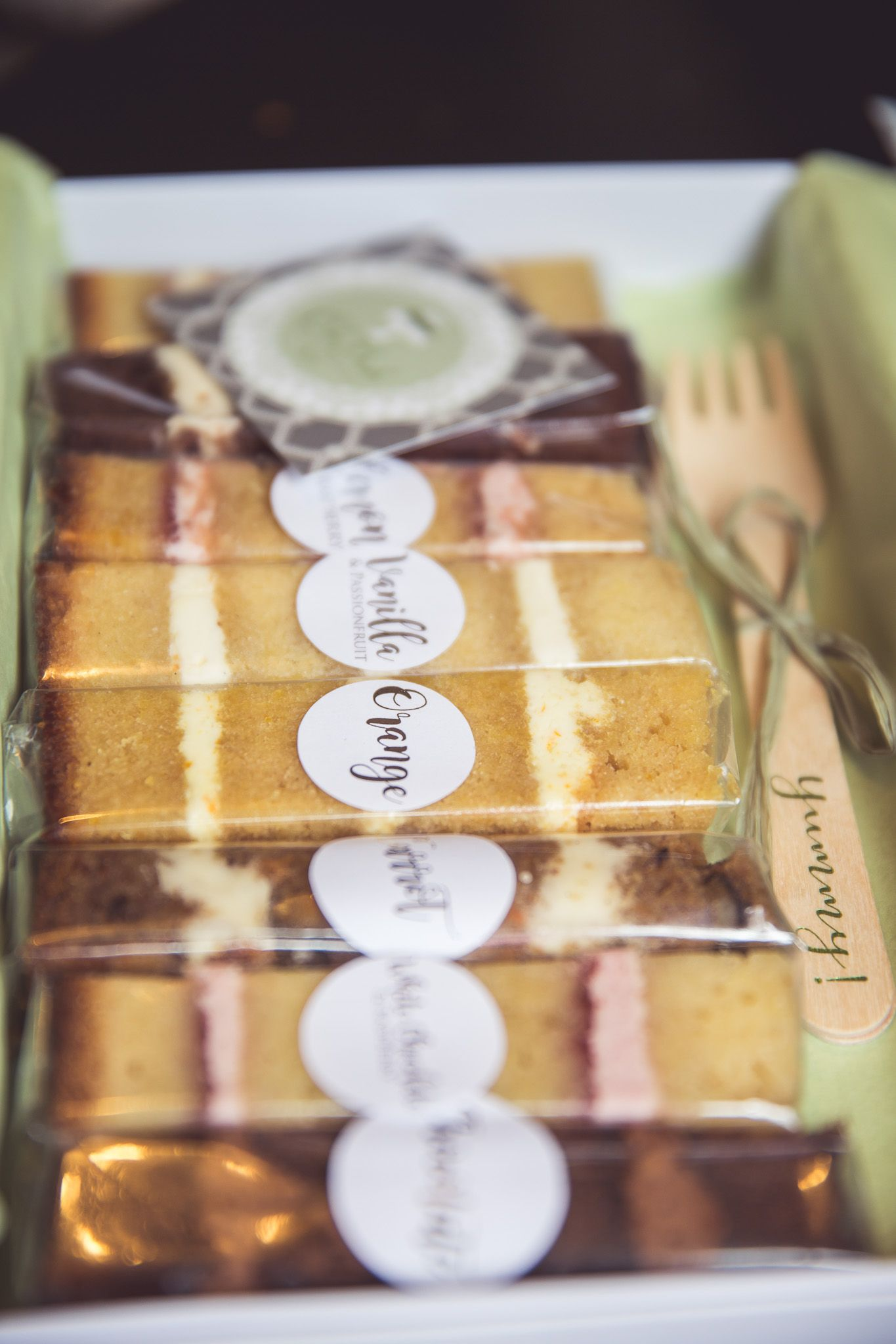 Cakebuds produces wedding cake sample boxes once per month