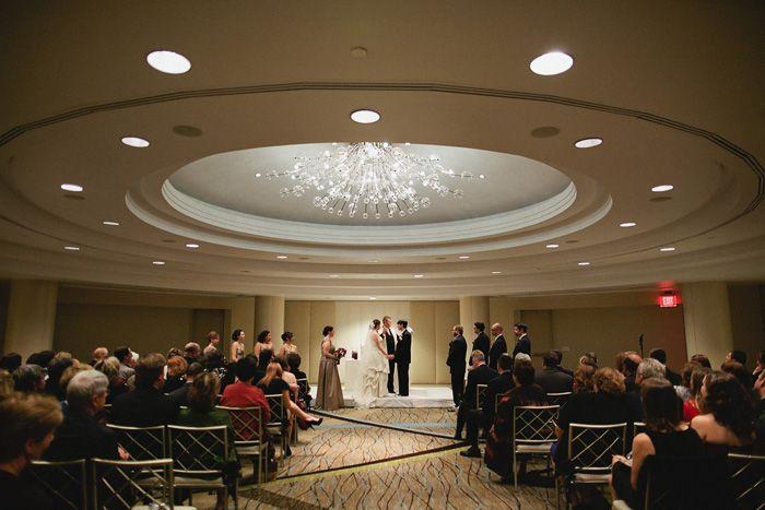 Westin Georgetown Wedding Ceremony 550x366 Dc Wedding Venue Tour The Westin Georgetown Dc Wedding Venues Dc Weddings Westin Georgetown